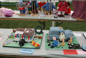 Reeth Show 2010 - Decorated novelty cakes