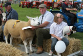 Reeth Show 2010 - Sheep parade