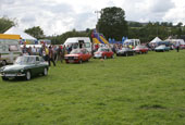 Reeth Show 2010 - Vintage car parade