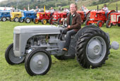 Reeth Show 2010 - Vintage tractor reserve champion