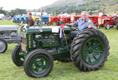 Reeth Show 2010 - Vintage tractor champion