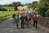 Reeth Show 2010 - Marching from reeth