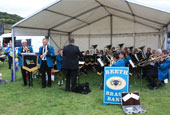 Reeth Show 2010 - Reeth brass band